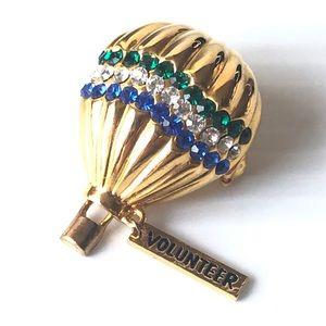 💝Hot air Balloon Brooch Pin